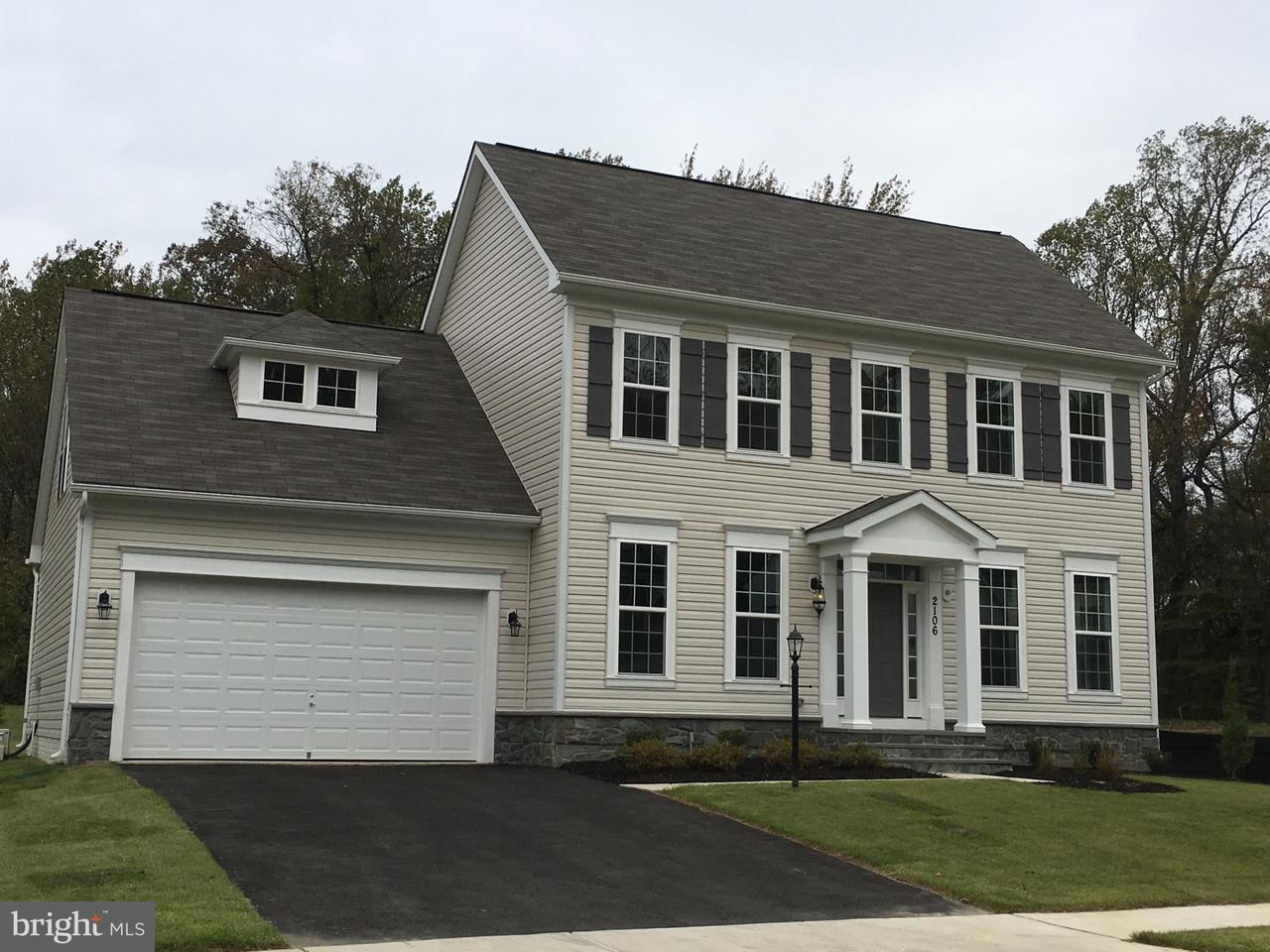 Частный односемейный дом для того Продажа на 2106 Basil Hall 2106 Basil Hall Gambrills, Мэриленд 21054 Соединенные Штаты