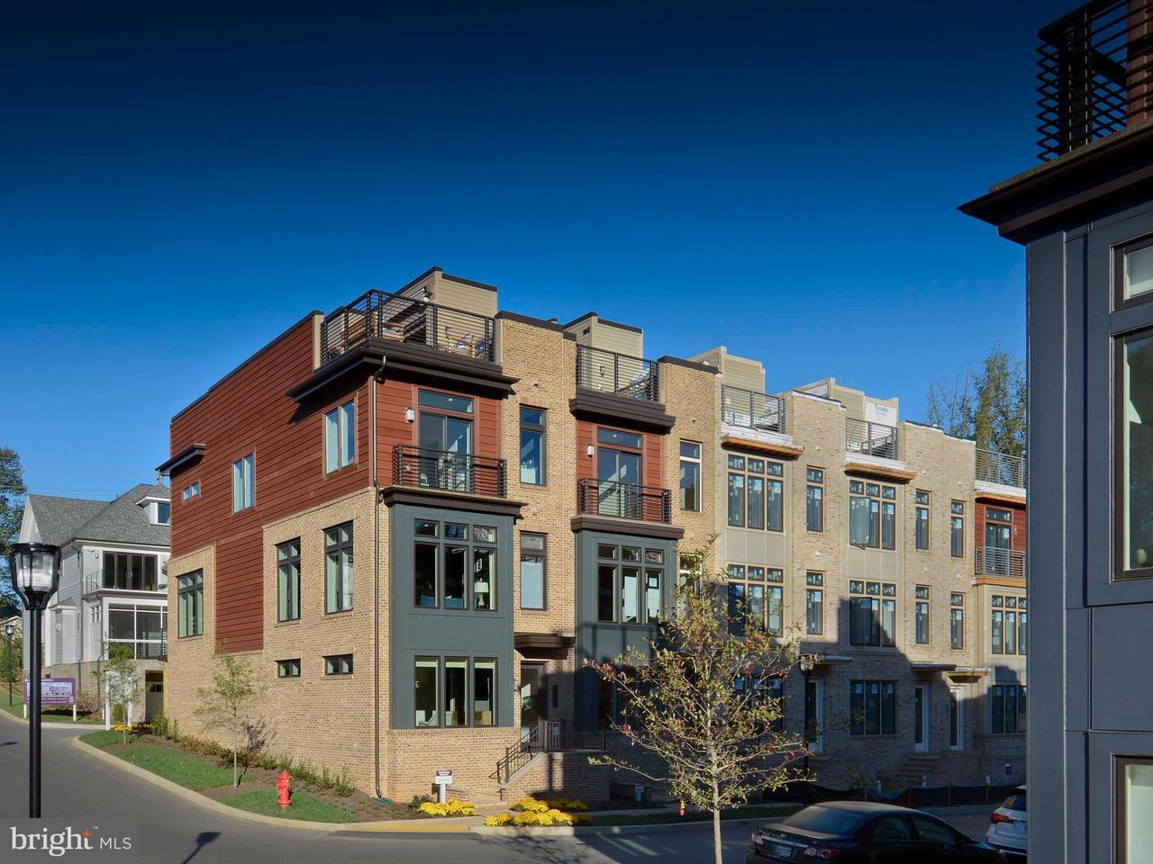 Townhouse for Sale at 5315 Merriam St #Everett Model 5315 Merriam St #Everett Model Bethesda, Maryland 20814 United States