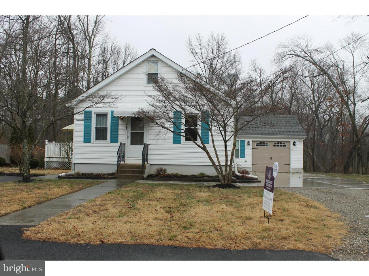 Single Family Home for Rent at 421 ROOSEVELT Avenue Lindenwold, New Jersey 08021 United States