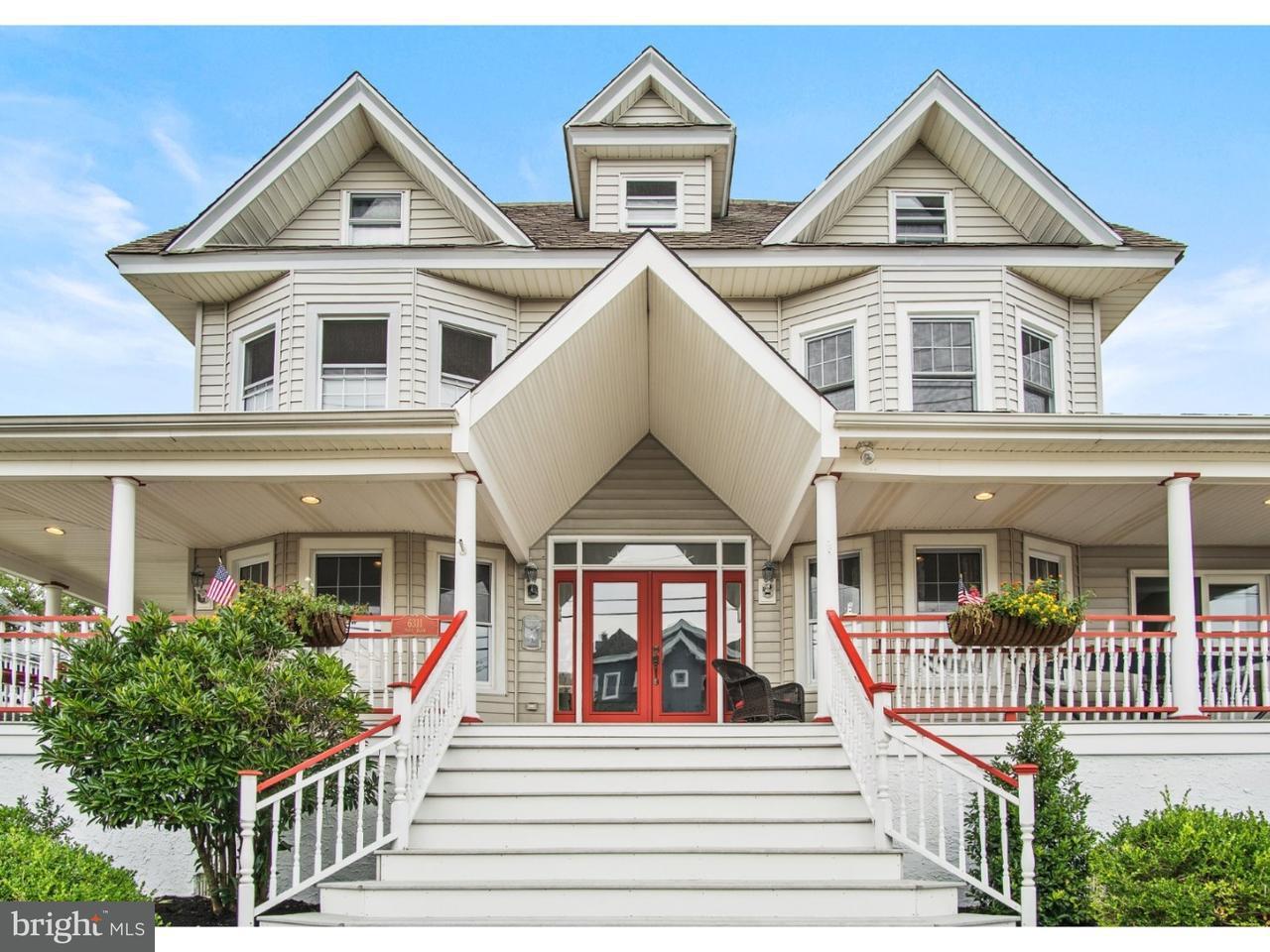 Частный односемейный дом для того Продажа на 6311 PARK BLVD Wildwood, Нью-Джерси 08260 Соединенные Штаты