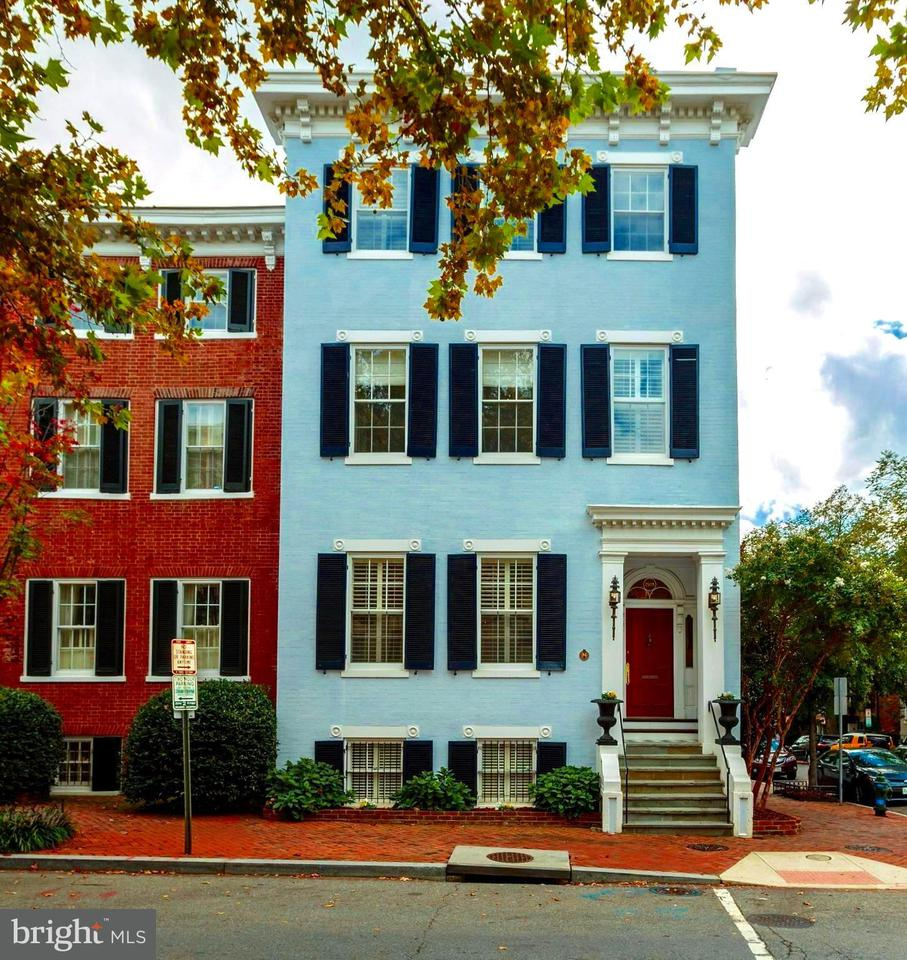 Single Family for Sale at 2928 P St NW Washington, District Of Columbia 20007 United States