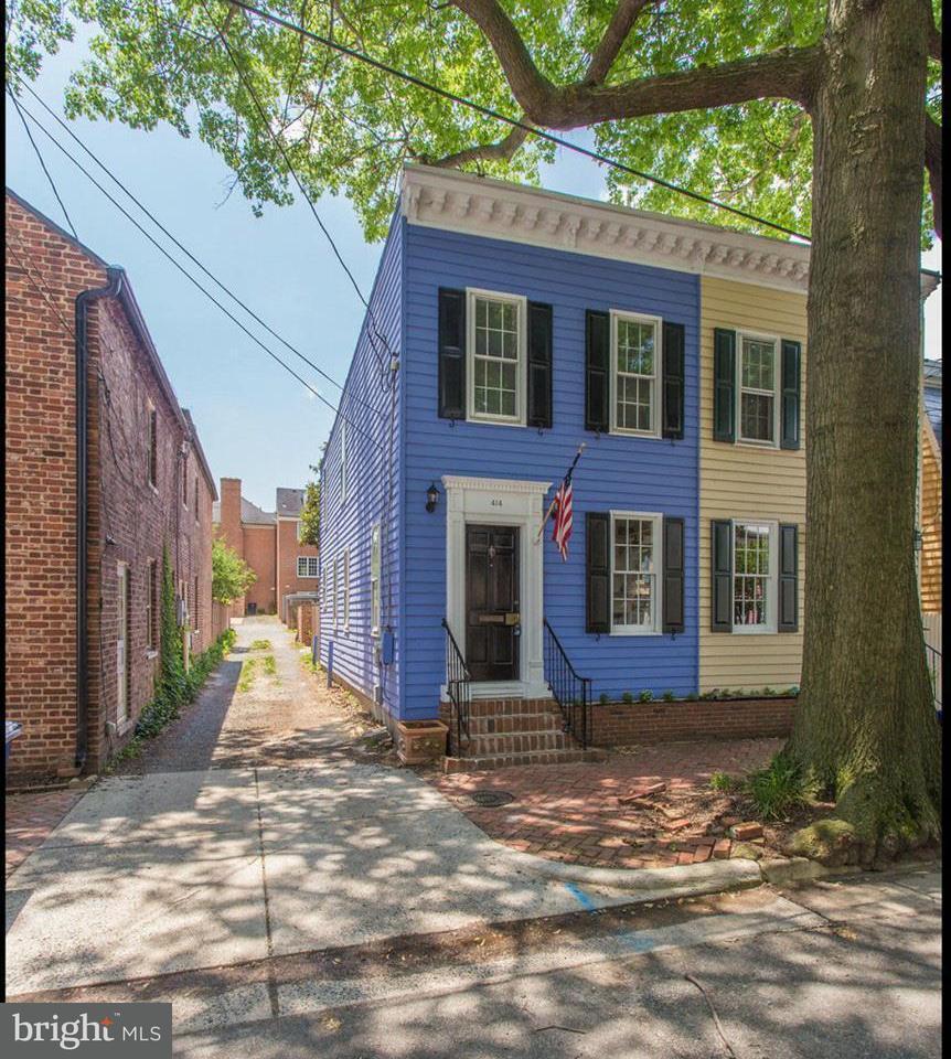 농장 용 매매 에 414 Queen Street 414 Queen Street Alexandria, 버지니아 22314 미국