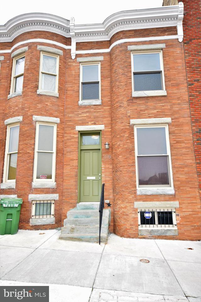 Single Family for Sale at 1115 Caroline St Baltimore, Maryland 21213 United States
