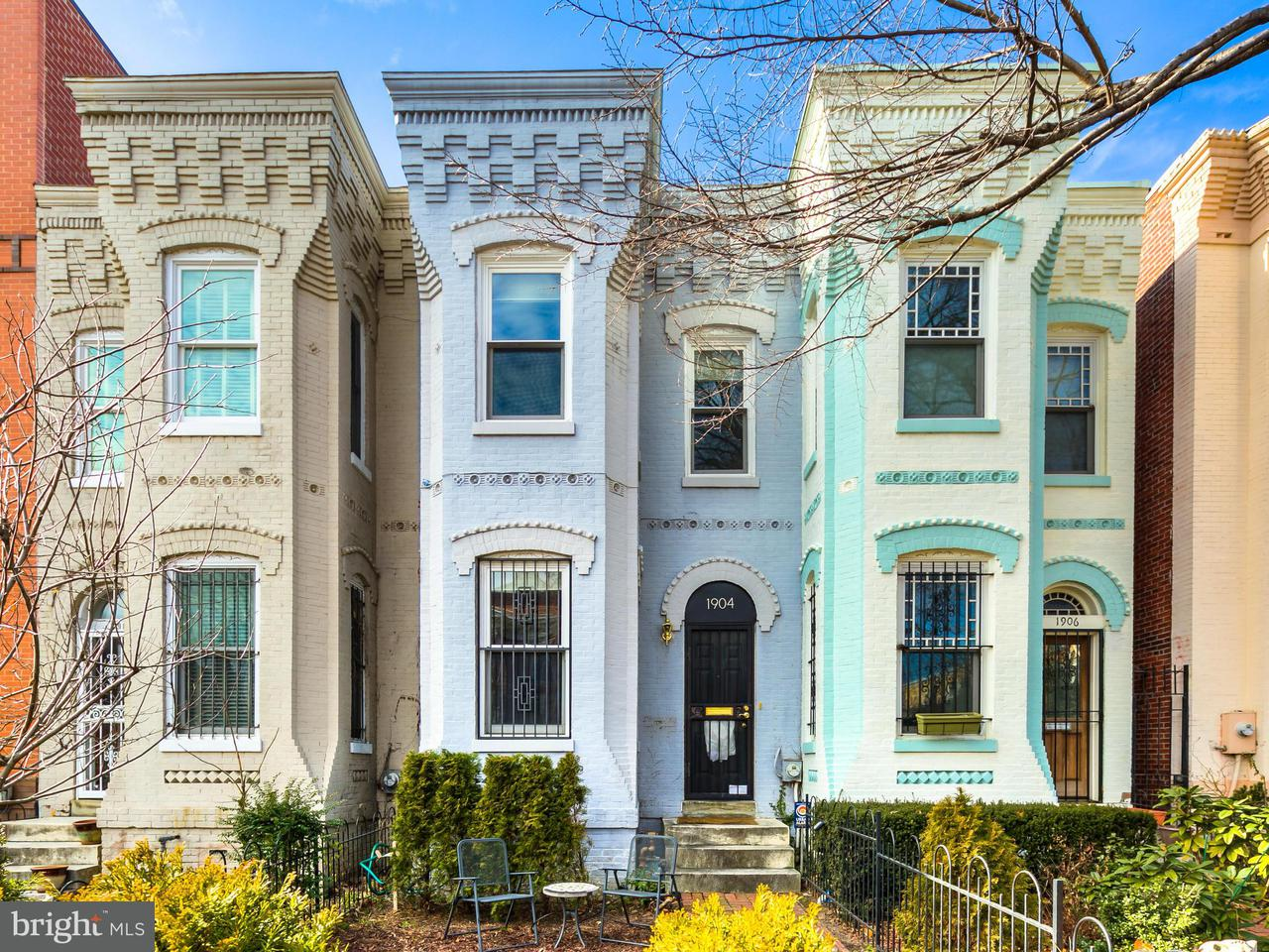 Townhouse for Sale at 1904 11th St Nw 1904 11th St Nw Washington, District Of Columbia 20001 United States