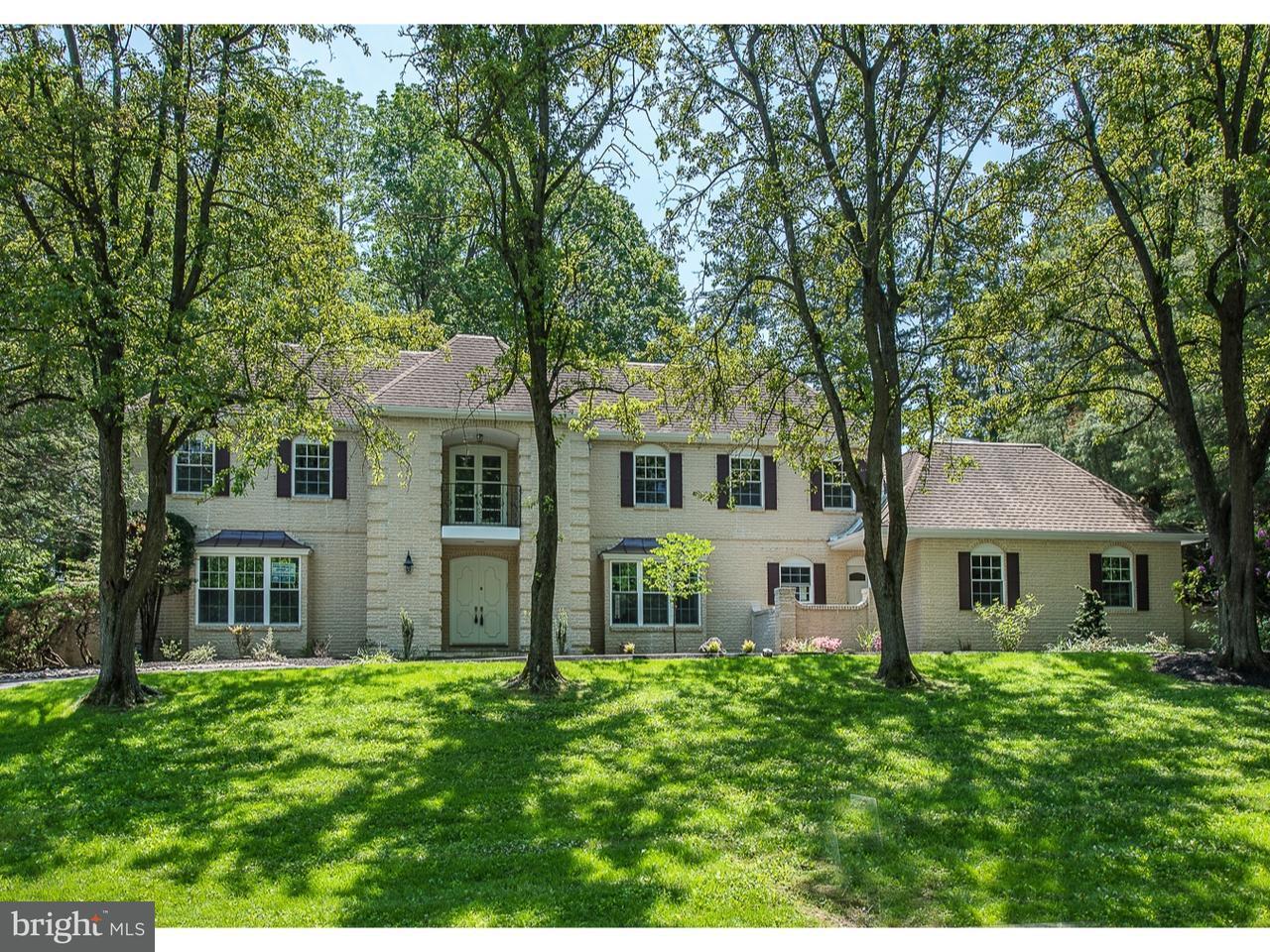 Частный односемейный дом для того Продажа на 121 QUAKER Lane Haverford, Пенсильвания 19041 Соединенные Штаты