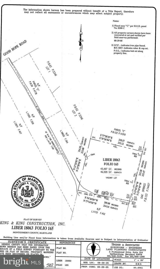 Land for Sale at Good Hope Rd Silver Spring, Maryland 20905 United States