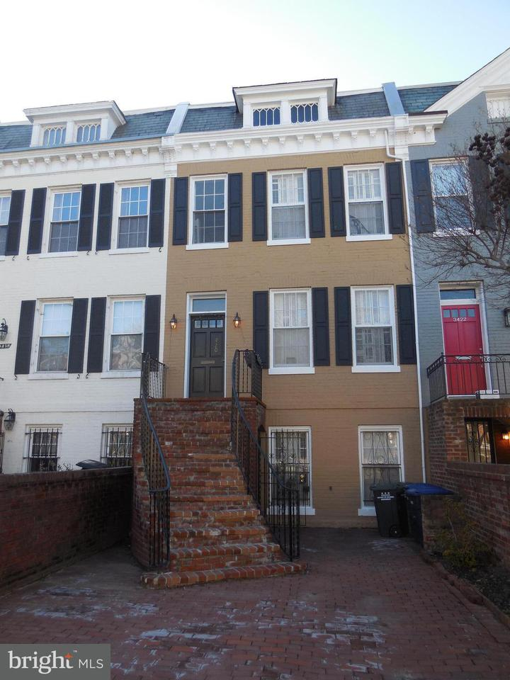 Townhouse for Sale at 3420 R St Nw 3420 R St Nw Washington, District Of Columbia 20007 United States