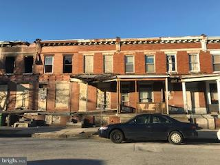 Single Family for Sale at 2526 Biddle St Baltimore, Maryland 21213 United States