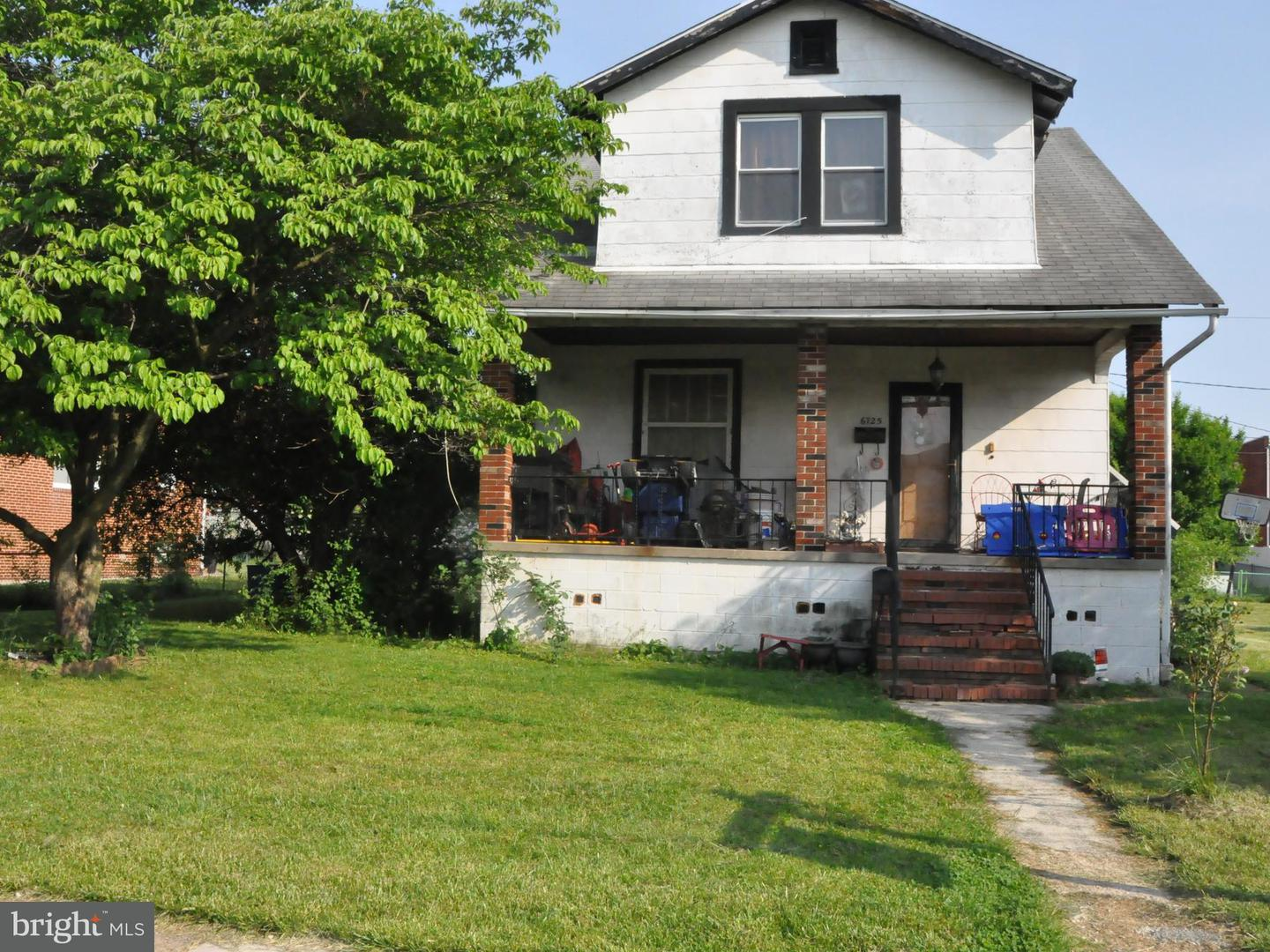 Single Family for Sale at 6725 Boston Ave E Baltimore, Maryland 21222 United States