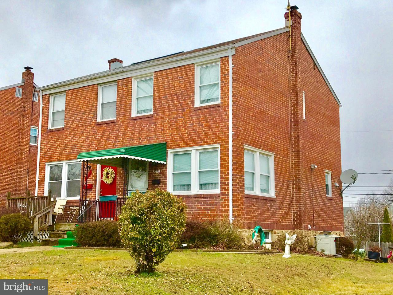 Single Family for Sale at 3910 Wilke Ave Baltimore, Maryland 21206 United States