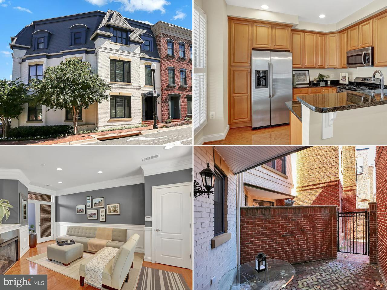 Townhouse for Sale at 300 West Street 300 West Street Alexandria, Virginia 22314 United States