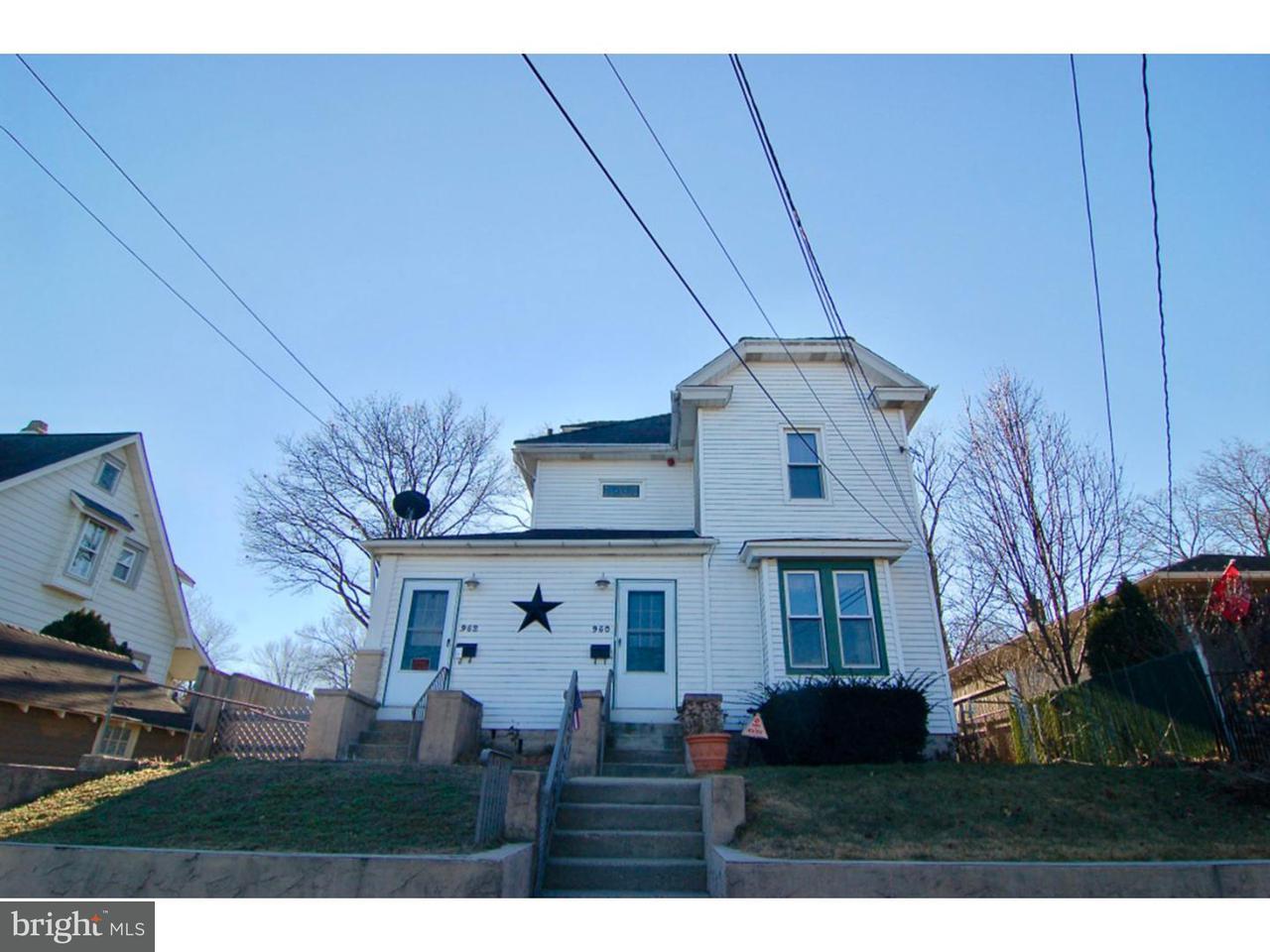 Casa Unifamiliar por un Venta en 950 SOMERSET Street Gloucester City, Nueva Jersey 08030 Estados Unidos