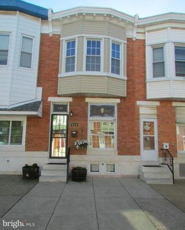 Single Family for Sale at 420 Macon St Baltimore, Maryland 21224 United States