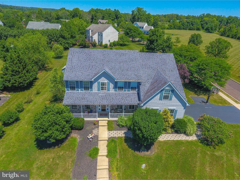 Maison unifamiliale pour l Vente à 110 CRESCENT Drive New Britain, Pennsylvanie 18914 États-Unis
