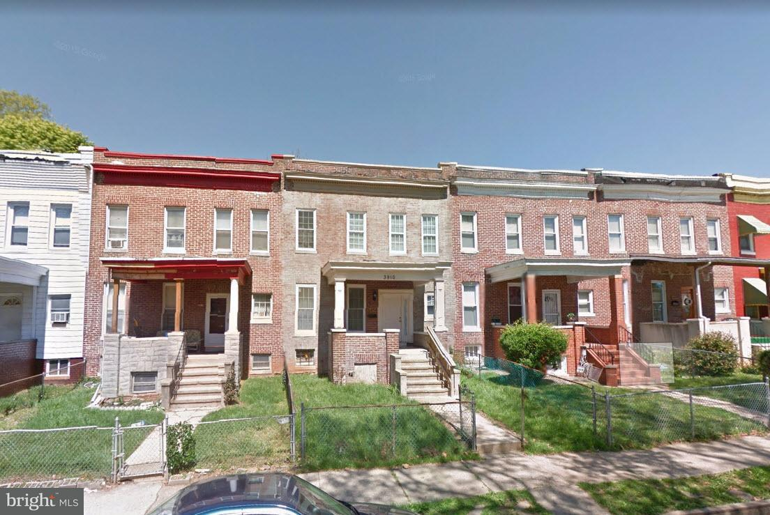 Single Family for Sale at 3910 Bonner Rd Baltimore, Maryland 21216 United States
