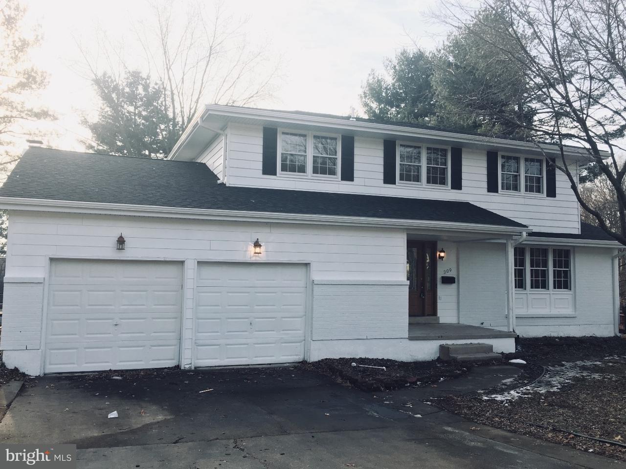 Maison unifamiliale pour l à louer à 309 STAMFORD Drive Newark, Delaware 19711 États-Unis
