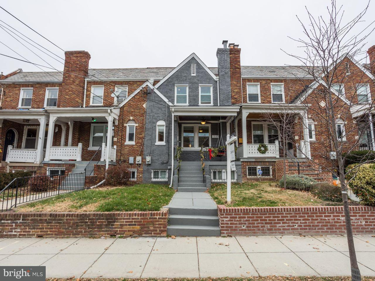 Townhouse for Sale at 1337 Rittenhouse St Nw 1337 Rittenhouse St Nw Washington, District Of Columbia 20011 United States