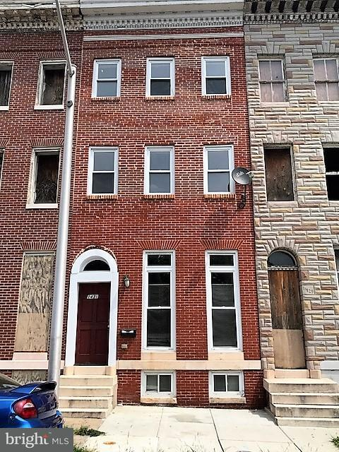 Single Family for Sale at 1431 Myrtle Ave Baltimore, Maryland 21217 United States