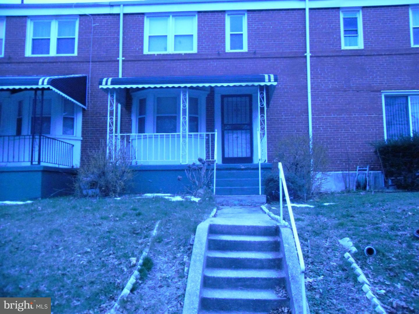Photo of home for sale at 1203 Woodbourne Avenue, Baltimore MD