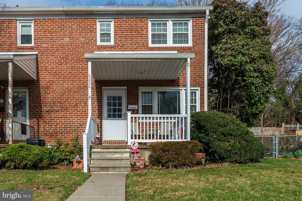 Single Family for Sale at 6226 Northwood Dr Baltimore, Maryland 21212 United States