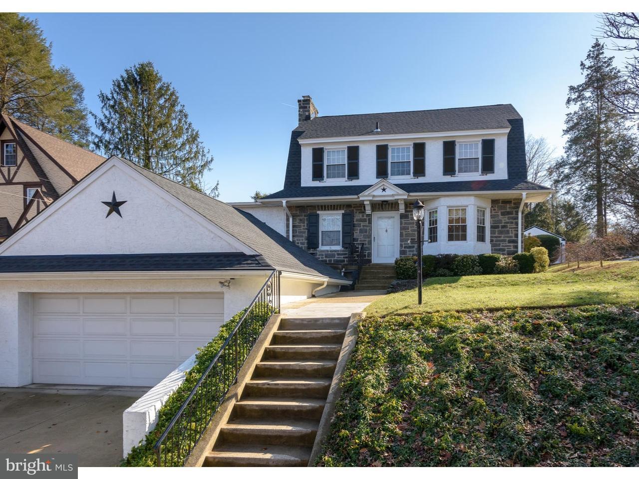 Casa Unifamiliar por un Venta en 120 W SPRINGFIELD Road Springfield, Pennsylvania 19064 Estados Unidos
