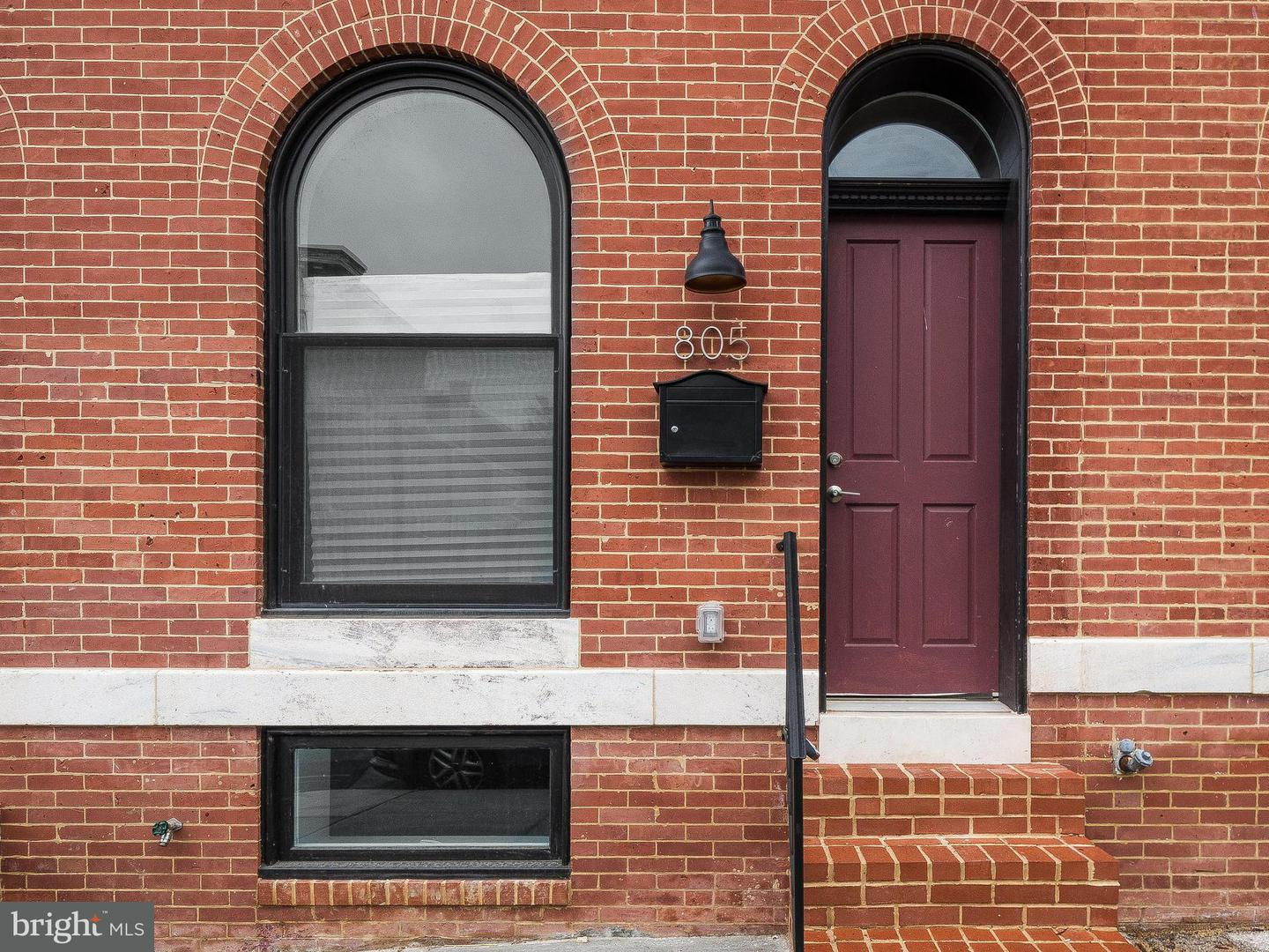 Single Family for Sale at 805 Chester St Baltimore, Maryland 21205 United States