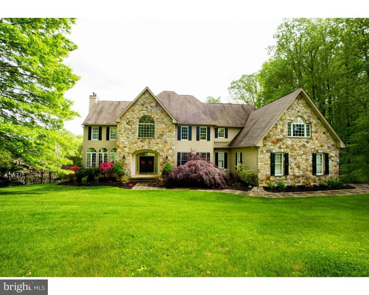 Частный односемейный дом для того Продажа на 8 HONEYSUCKLE Court Glen Mills, Пенсильвания 19342 Соединенные Штаты