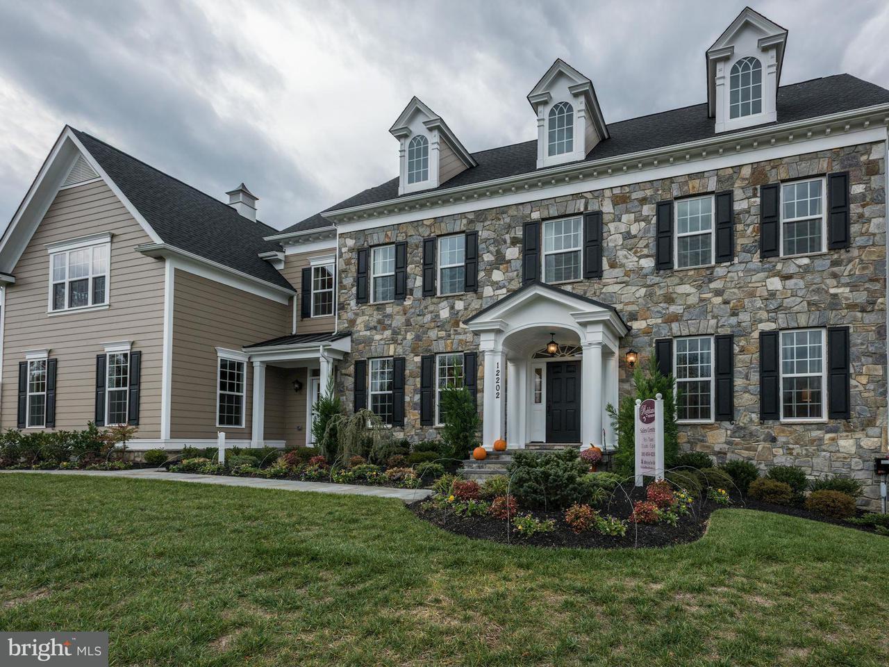 Частный односемейный дом для того Продажа на 12337 Point Ridge Drive 12337 Point Ridge Drive Fulton, Мэриленд 20759 Соединенные Штаты
