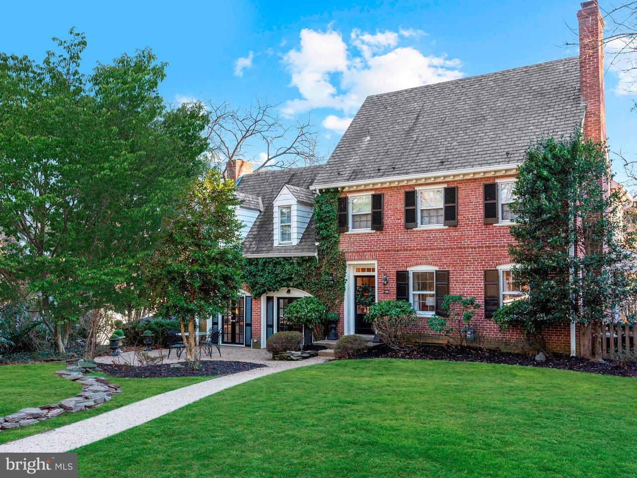 Single Family for Sale at 106 Kirke St E Chevy Chase, Maryland 20815 United States