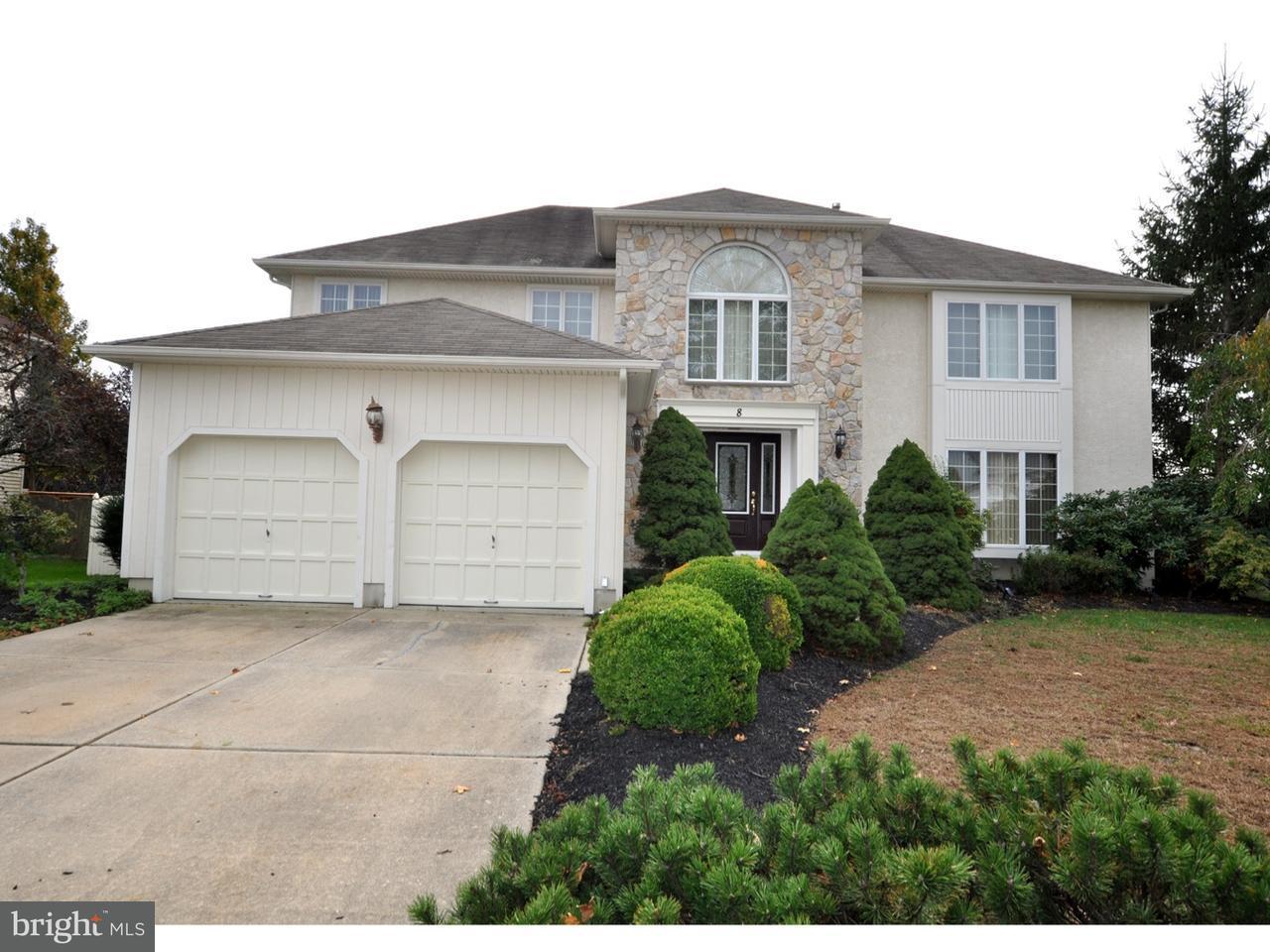 Casa Unifamiliar por un Venta en 8 PATRICK HENRY Drive Evesham, Nueva Jersey 08053 Estados Unidos