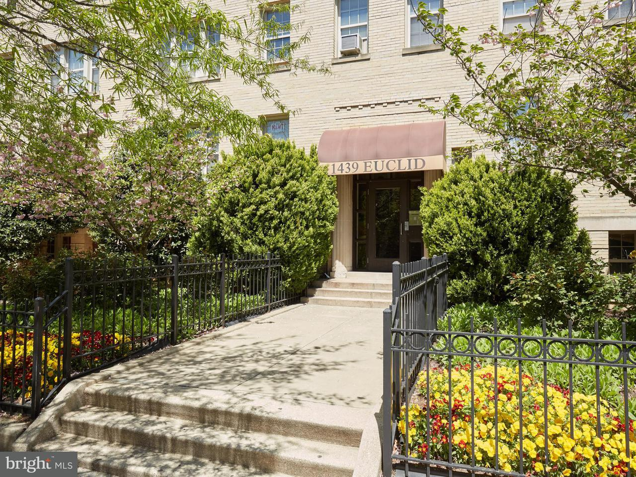 Single Family for Sale at 1439 Euclid St NW #104 Washington, District Of Columbia 20009 United States