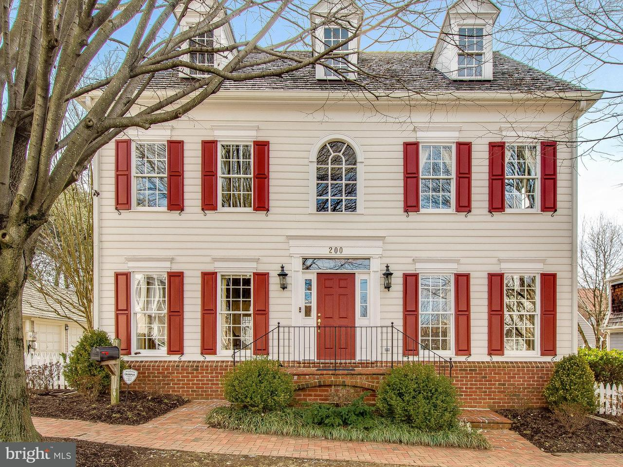 Single Family Home for Sale at 200 Golden Ash Way 200 Golden Ash Way Gaithersburg, Maryland 20878 United States