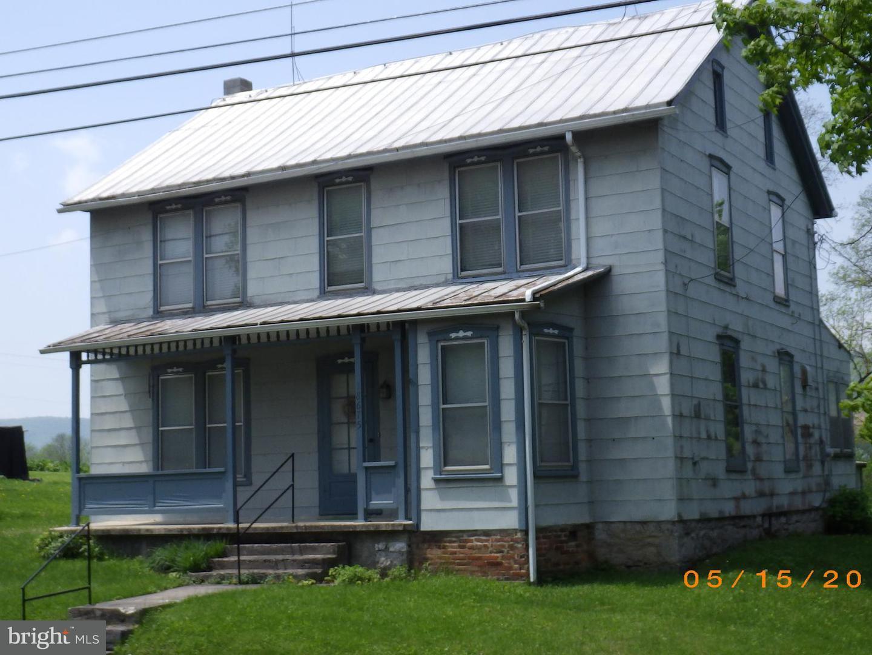 Single Family for Sale at 18675 Main Street Dry Run Dry Run, Pennsylvania 17220 United States