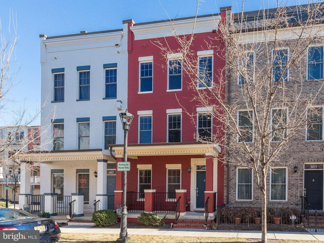 Townhouse for Sale at 3115 Chancellors Way Ne 3115 Chancellors Way Ne Washington, District Of Columbia 20017 United States