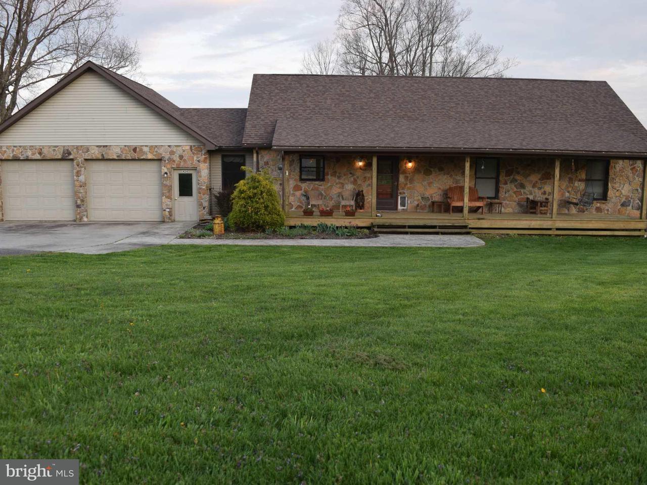 Single Family for Sale at 424 Maynardier Ridge Rd Bittinger, Maryland 21522 United States