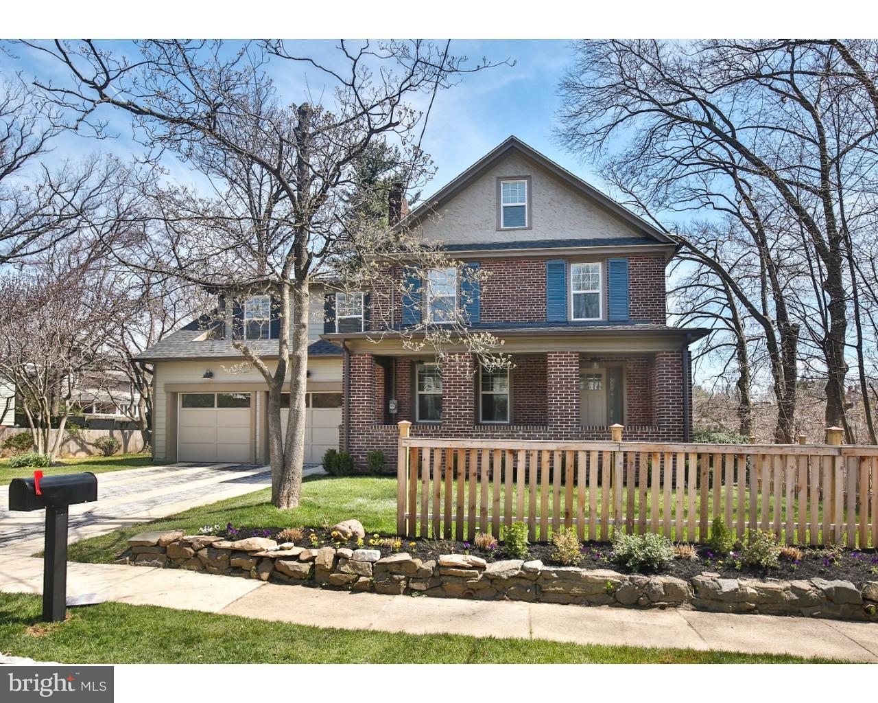Single Family Home for Sale at 117 GLYNN Lane Wayne, Pennsylvania 19087 United States