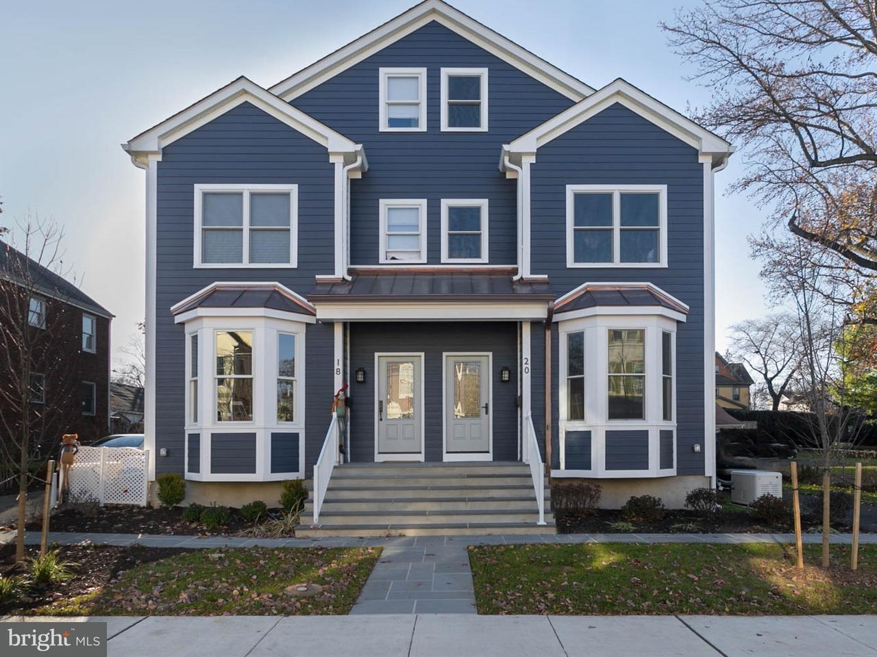 Townhouse for Sale at 20 HUMBERT Street Princeton, New Jersey 08542 United StatesMunicipality: Princeton