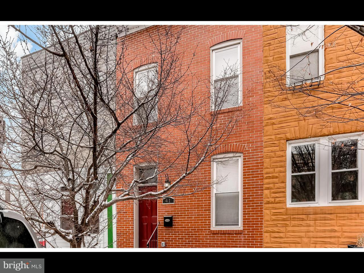 Single Family for Sale at 41 Patterson Park Ave N Baltimore, Maryland 21231 United States