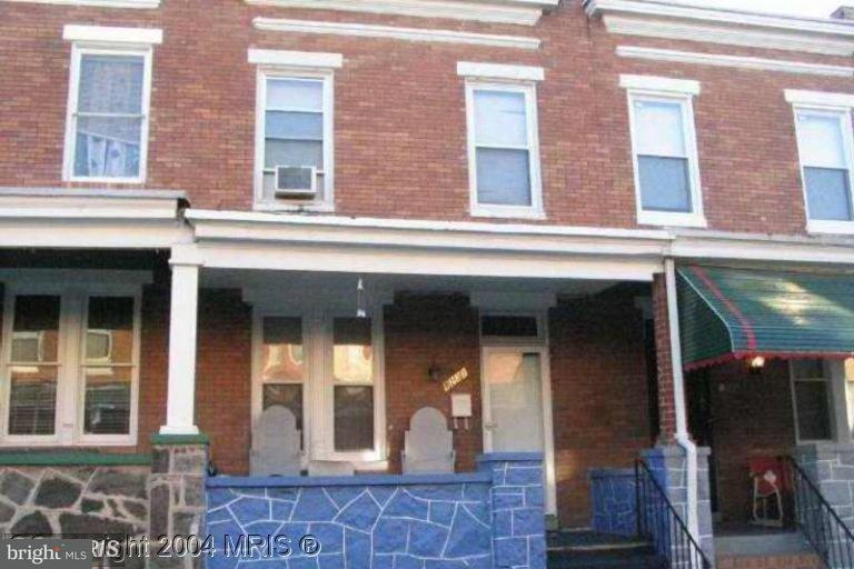 Single Family for Sale at 1231 Curley St Baltimore, Maryland 21213 United States