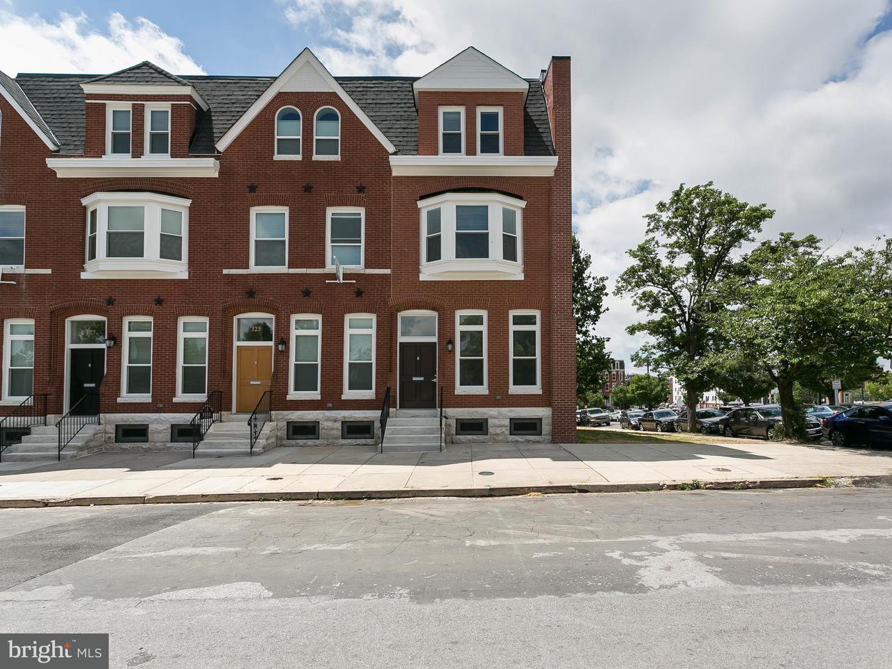 Single Family for Sale at 323 20th St Baltimore, Maryland 21218 United States
