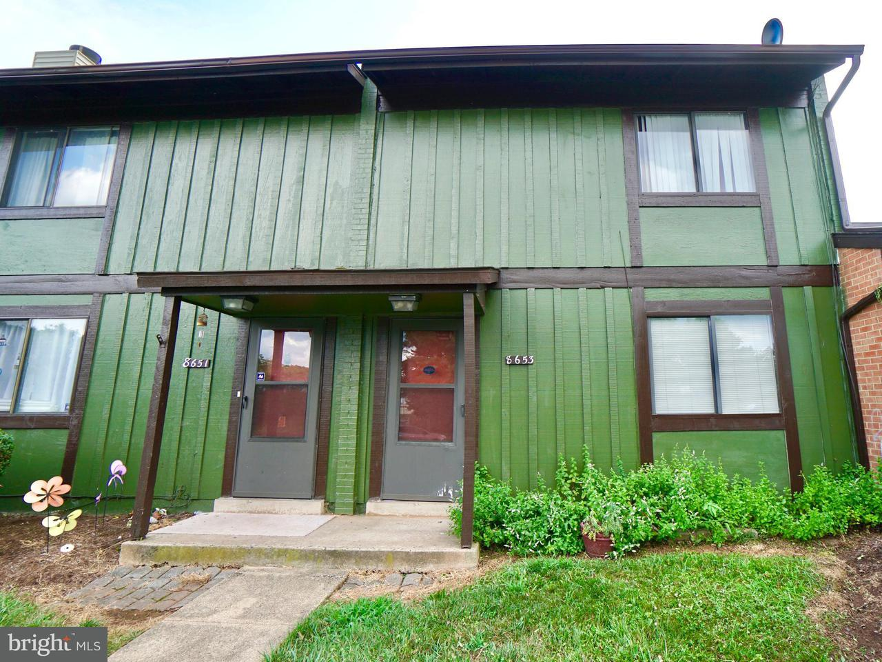 Photo of home for sale at 8653 Inyo Place, Manassas Park VA