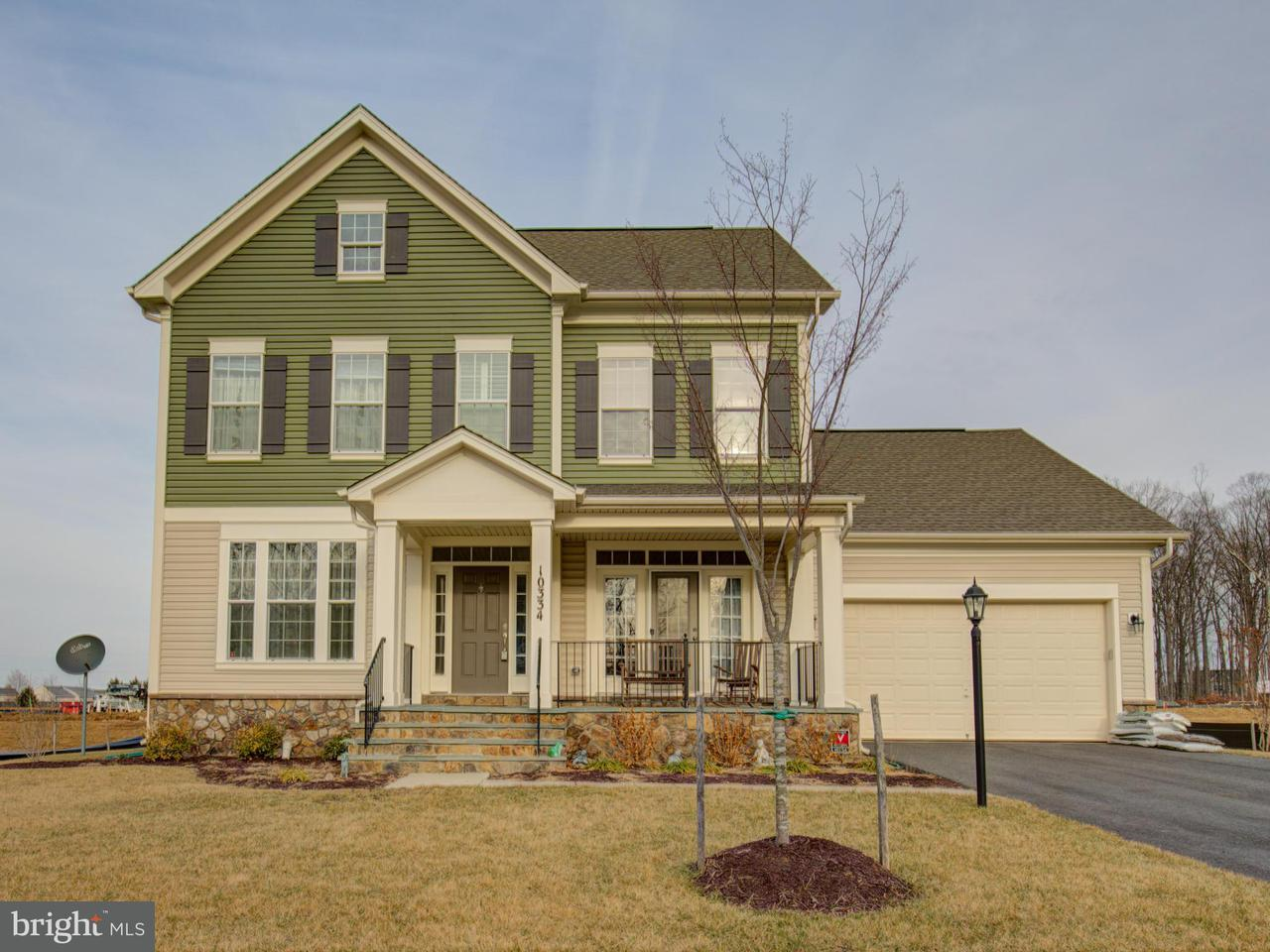Частный односемейный дом для того Продажа на 10334 Spring Iris Drive 10334 Spring Iris Drive Bristow, Виргиния 20136 Соединенные Штаты