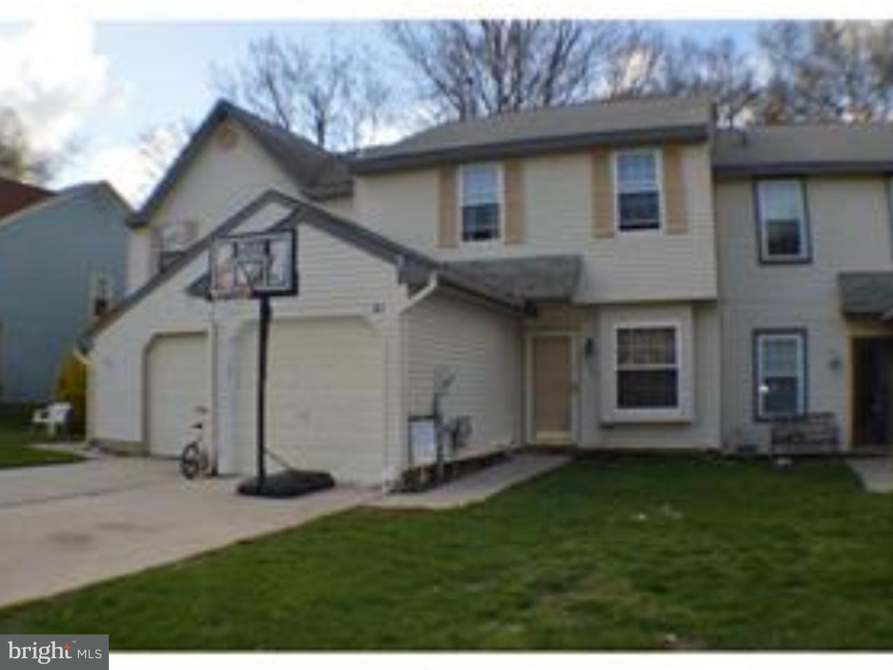Casa unifamiliar adosada (Townhouse) por un Alquiler en 363 BROOKDALE BLVD Williamstown, Nueva Jersey 08094 Estados UnidosEn/Alrededor: Monroe Township