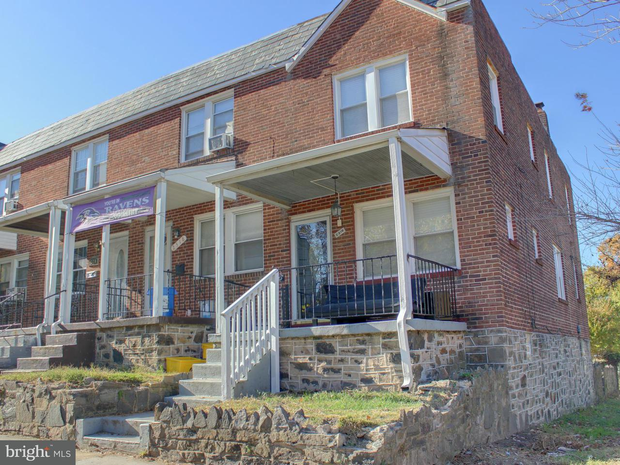 Other Residential for Rent at 2316 Herkimer St Baltimore, Maryland 21230 United States