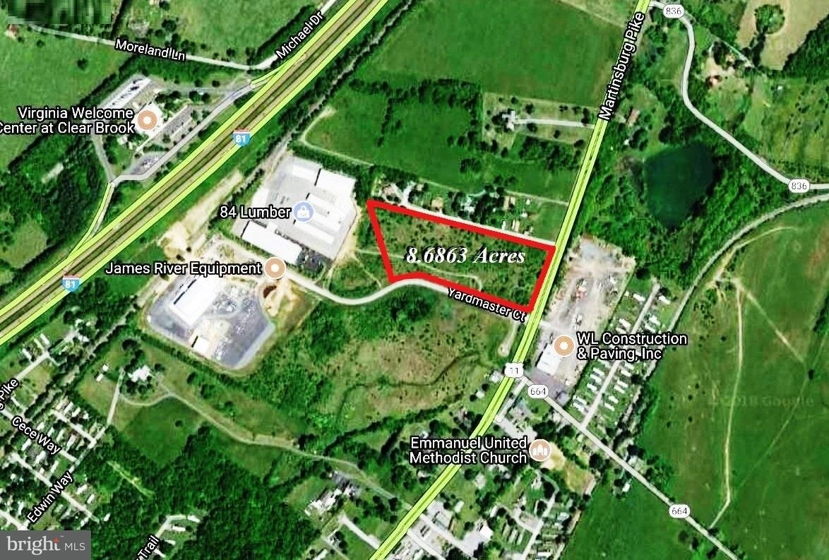 Land for Sale at Martinsburg Pike Winchester, Virginia 22601 United States