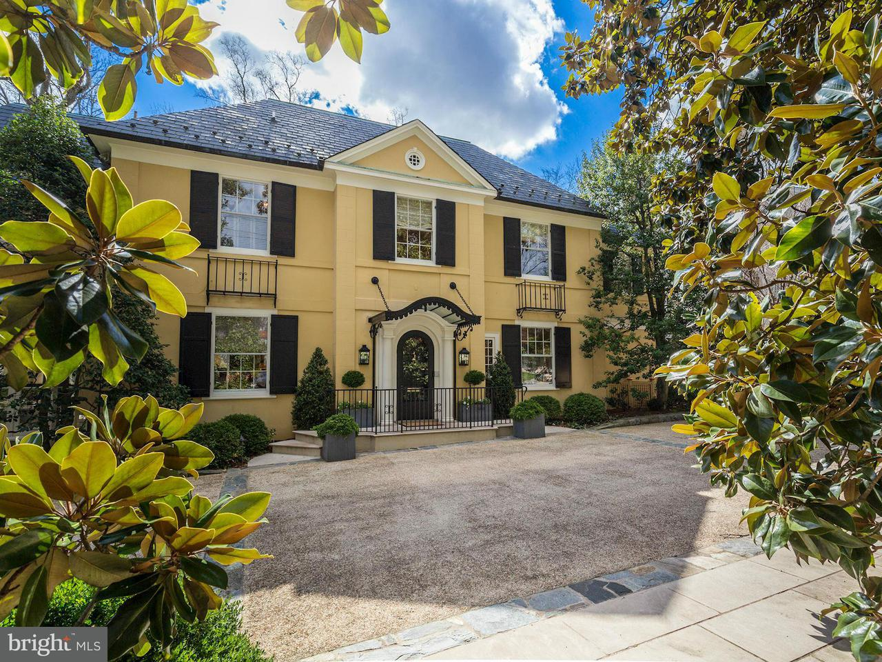 Частный односемейный дом для того Продажа на 4524 Cathedral Ave Nw 4524 Cathedral Ave Nw Washington, Округ Колумбия 20016 Соединенные Штаты