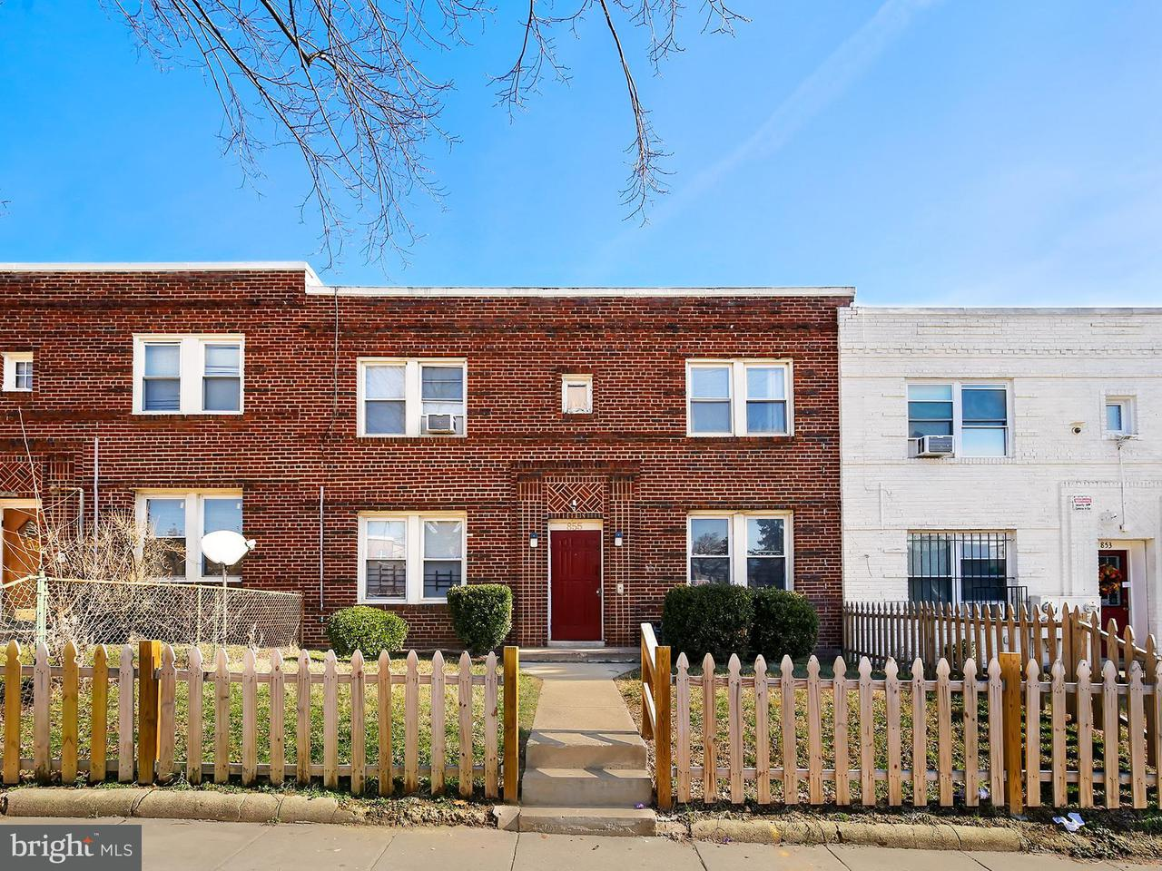Multi-Family Home for Sale at 855 19th St Ne 855 19th St Ne Washington, District Of Columbia 20002 United States