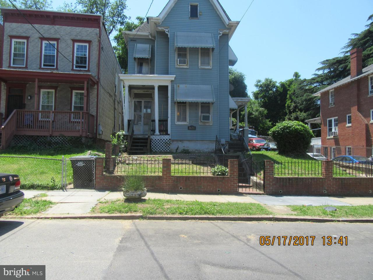 Single Family for Sale at 1621 U St SE Washington, District Of Columbia 20020 United States