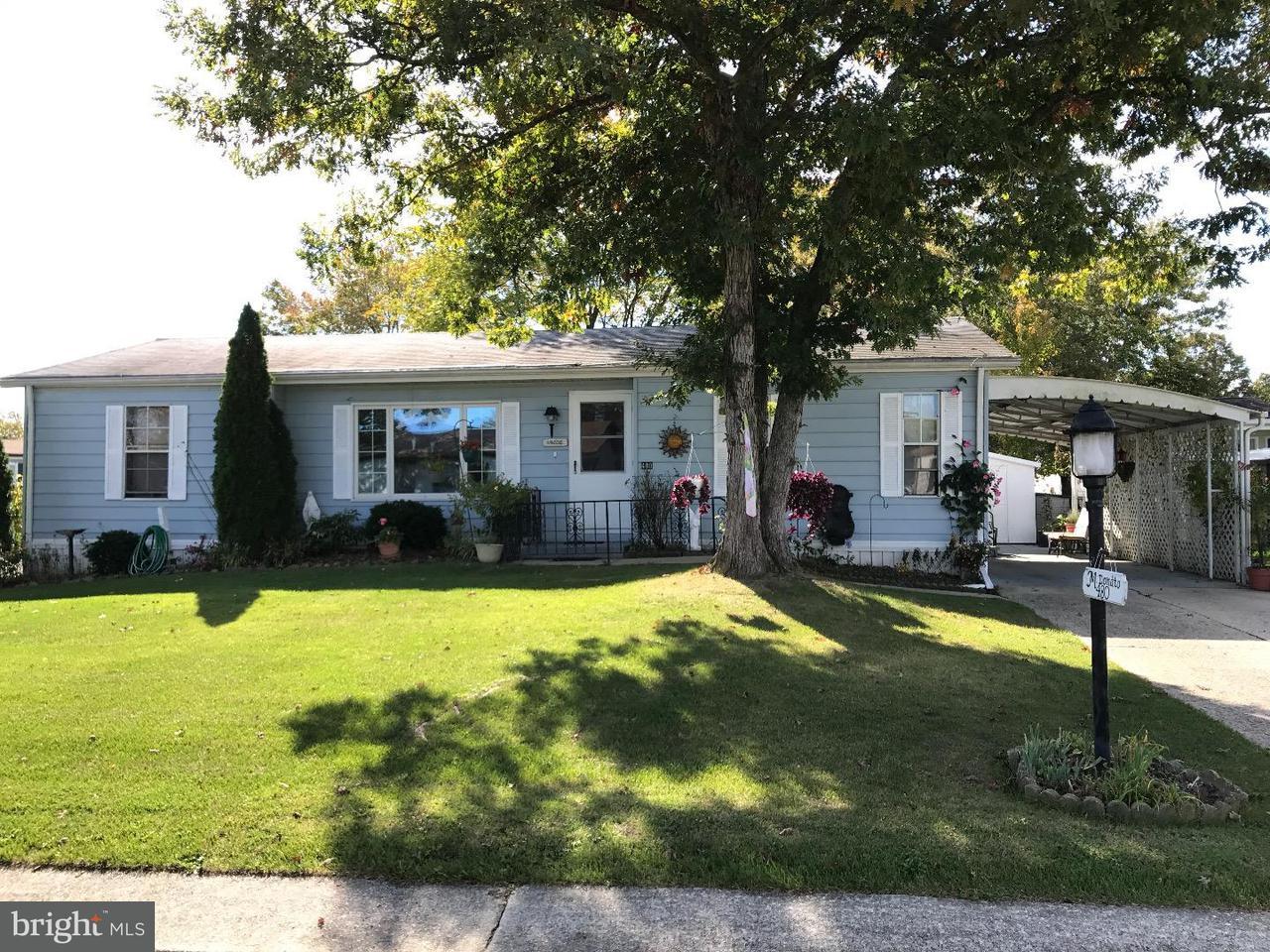 Mobile Homes pour l Vente à 480 S PILGRIM WAY Buena Vista Township, New Jersey 08310 États-Unis