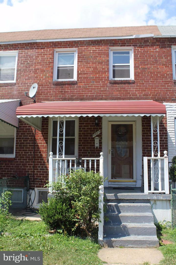 Single Family for Sale at 6404 Hartwait St Baltimore, Maryland 21224 United States